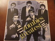 The Zombies Greatest Hits Signed Autograph Album LP