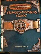 Dungeons and Dragons: Dungeon Master's Guide - Core Rulebook II D20