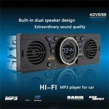 Auto Bluetooth MP3 Player Stereo Audio AUX Medien Lautsprecher FM Radio TF Karte