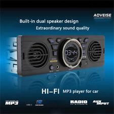 12V Car SD Card MP3 Stereo Audio Electric Radio Speaker Bluetooth USB Car Player