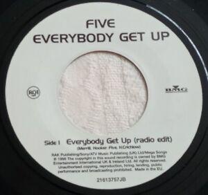 "Five - Everybody Get Up - 7"" Vinyl Single 1998"
