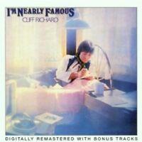 CLIFF RICHARD - I'M NEARLY FAMOUS (DIGITALLY REMASTERED) CD 18 TRACKS POP NEW!