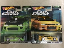 Hot Wheels Premium-Original Fast : '95 Mitsubishi Eclipse & Nissan Skyline GT-R