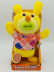 Mattel The Sing-a-ma-jigs - Yellow In Original Package - WORKS - NEW