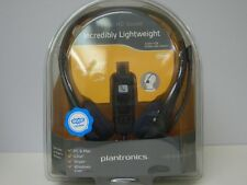 Plantronics .Audio 628 Stereo Corded Computer USB Connection Headset New In Box