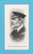 MILITARY - TADDY - ADMIRALS & GENERALS (S.A.) - CARD NO. 15  - CRADOCK  -  1914