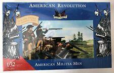 IMEX 1/32 American Revolution American Militia Men #3201 NIP