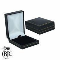 BJC 9ct Oro Blanco Natural ópalo y Diamante 0.40ctCT 0.17ct Collar con colgante