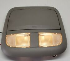 2000-2006 NISSAN SENTRA OVERHEAD CONSOLE SUNGLASS STORAGE DOME MAP GRAY OEM