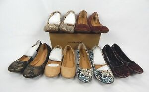 Lucky Brand Emmie Ballet Flats - Leopard, Paisley, Flower, Nude, Diva, Spruce