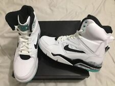 Nike Air Command Force 684715-102 White Black/Wolf Grey/Hyper Jade Size 8.5