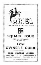 (0132) 1951 Ariel 4G Square four owners guide