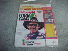 1993 Richard Petty NASCAR Racing Corn Flakes Cereal Box