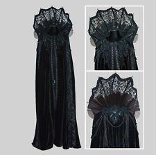 Elaborate Witch Vampire Cape Halloween Costume Katherine's Collection 28-728506