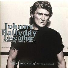 Meilleur Prix ! JOHNNY HALLYDAY : LOVE AFFAIR feat. KATHY MATTEA - [ CD SINGLE ]