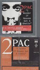CD--PROMO--2PAC--I WONDER IF HEAVEN GOT A GHETTO--