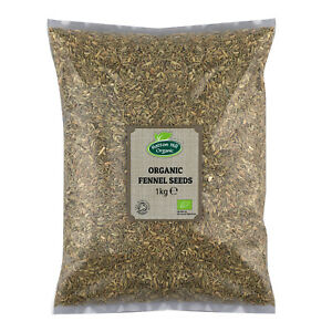 Organic Fennel Seeds Certified Organic