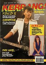 Kings X on Kerrang Cover 1991   Jon Bon Jovi  Vixen  Bret Michaels  Judas Priest
