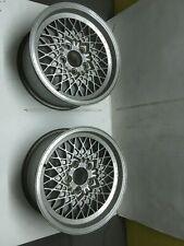 2 llantas OZ MSW de Mercedes 190E. 2 OZ MSW Mercedes Wheels Rims Original