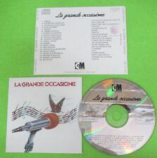 CD Compilation La Grande Occasione GEGIA PINO AVERSA GIUSEPPE CIONFOLI no lp(C46