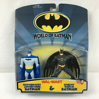 World of Batman 2 Pack Gotham City Adventures and Knight Watch Figures 1999