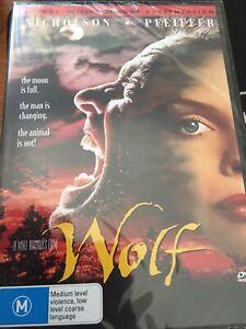 WOLF - JACK NICHOLSON/MICHELLE PFEIFFER/JAMES SPADER - NEW & SEALED - RARE