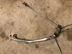 1985 HONDA 110 ATC COMPLETE FOOT BRAKE LEVER ASSEMBLY REAR PEDAL C003