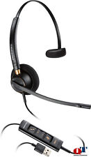 NEW Plantronics 203474-01 EncorePro HW545 Headset USB on-ear convertible Boom