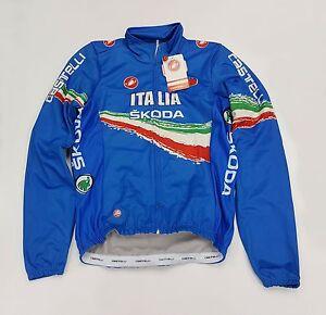 Castelli Italia WindStopper Men's Winter Cycling Jacket Blue Size M