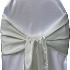 "6""x108"" Satin Chair Sash Bow Wedding Party Baby Shower Anniversary Banquet Decor"