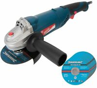 """950w Electric Angle Grinder 4.5"""" 115mm Grinding With 10 Free Cutting Discs"""