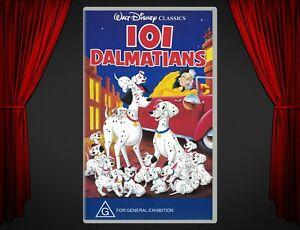 VHS Movie | 101 Dalmatians (1961) | Rod Taylor; Betty Lou Gerson; Cate Bauer