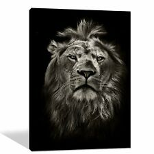 Canvas Print Home Decor Wall Art Painting Framed Big Lion Ready to Hang US SHIP