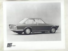 1968 Fiat 124 Sport Coupe ORIGINAL Factory Photograph wy3691