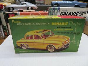 ORIGINAL 1/25 PREMIER PALMER RENAULT DALPHINE PROJECT BUILDER MODEL