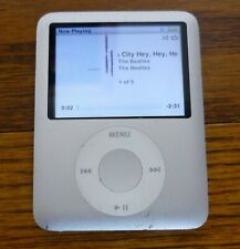Apple Ipod Nano, 3rd Generation, 8 GB, Model #A1236, TESTED, Guaranteed to work