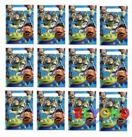Disney Pixar Toy Story Loot Bags Favors & Party Bag Fillers Candy Treats Bags