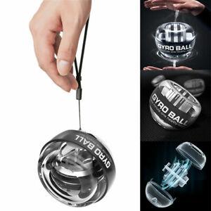 LED Gyroscope Force Gyro Ball Wrist Muscle Power Arm Exerciser Training Toy Gift