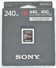 SONY G XQD 240GB QD-G240F Memory Card