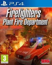 PS4 JUEGO werksbrandschutz Die Simulation FIREFIGHTERS PLANT FIRE DEPARTMENT