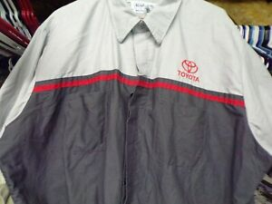 """ TOYOTA"" SHOP / TECHNICANS SHORT SLEEVE WORK SHIRT TRD SR-5"