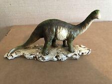 Vintage Castagna Made in Italy Apatosaurus Resin Alabaster Dinosaur Figurine