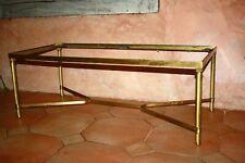 Table basse laiton bronze doré Dlg Maison Jansen Baguès Charles *