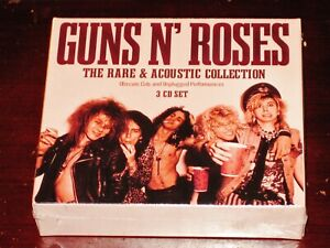 Guns N' Roses: The Rare + Acoustic Collection - Unplugged 3 CD Box Set 2021 NEW