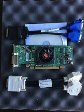 AMD Radeon 512MB HD5450 Video Graphics Card PCIe DMS59 Dual VGA DVI Low Profile