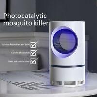 para insectos En silencio Repelente de plagas Mosquito Killer Lamp USB Zapper
