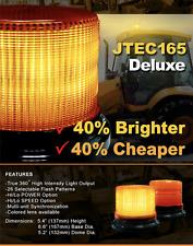 SIGNALFX JTC-165 LED Beacon Warning Light Flashing Australia New Zealand Amber