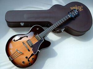HÖFNER BLUE TONE SUPER LUXE E-2 HCT SL Sunburst HOFNER JAZZ HOLLOWBODY Guitar