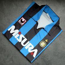 Inter Milan home football shirt 1990 / 1991 Uhlsport Misura (medium)