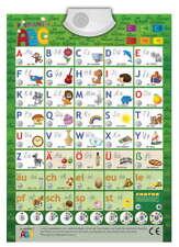 Audio-Plakat Sprechendes ABC Deutsch Lernspielplakat Lernposter interaktiv Kind